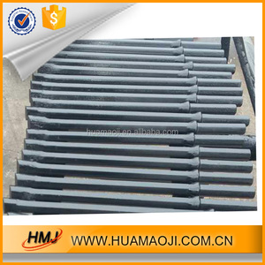 Chisel bits Hexagonal Integral Drill Rods