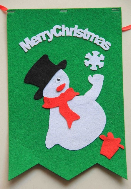 Wholesale christmas hanging bunting, string flag