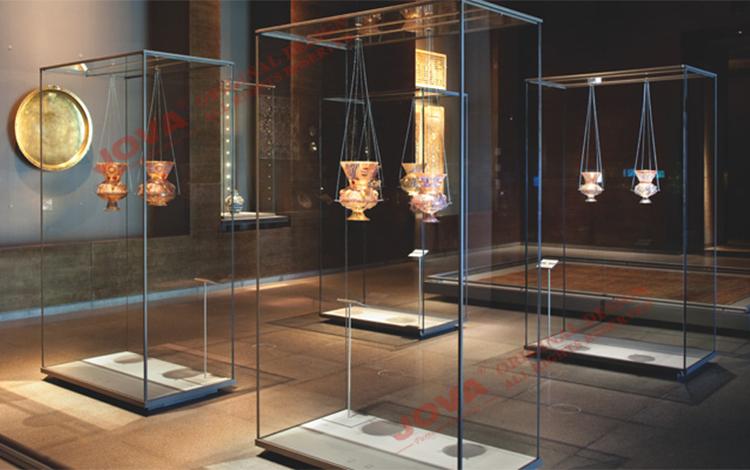 Exhibition Stand In Spanish : Museo vitrinas para colección buena calidad vitrina
