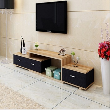 Modern Wood Tv Stand With Drawers Buy Wooden Furniture Lcd Tv