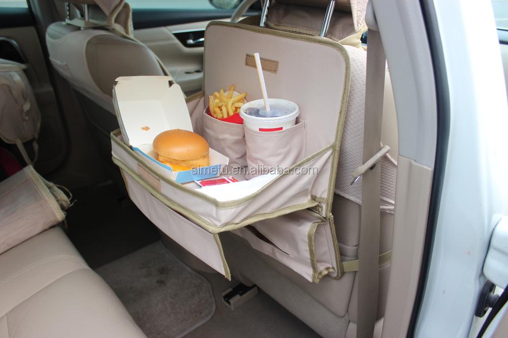 Luxury Car Storage Organizer Seat Back Protector Table