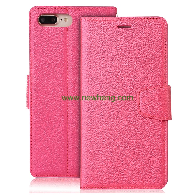 Luxury Leather Case for iphone 7 Flip Cover Wallet Cases