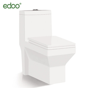 Hot-sale! Square design toilet bowl Siphonic one piece toilet with nice quality ceramic sanitary indian toilet
