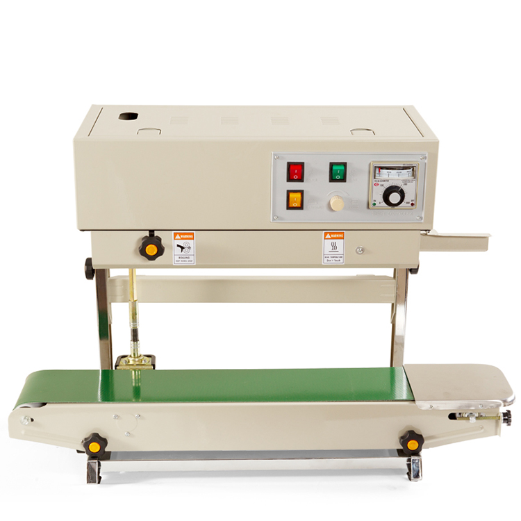YTK-FR900V Low Price Automatic Vertical Continuous Pouch Sealing Machine Heat Bag Band Plastic Sealer Machine For Plastic Bag