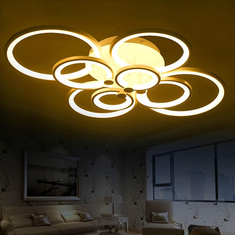 remote control living room bedroom modern led ceiling lights luminarias para sala dimming led. Black Bedroom Furniture Sets. Home Design Ideas