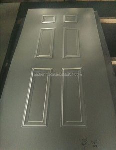 Steel Door Skin molded stamped galvanized hot rolled cold rolled steel metal door face