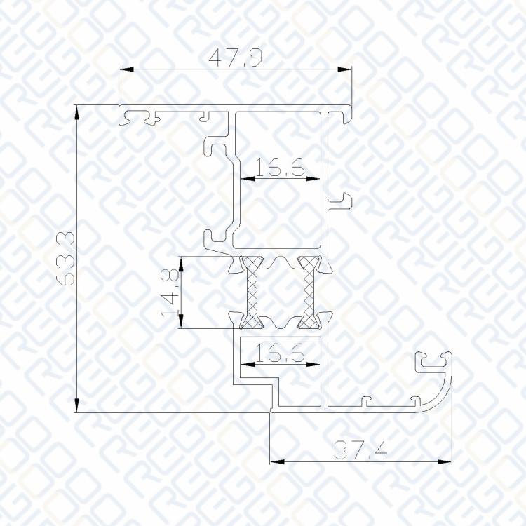 Finden Sie Hohe Qualität 4080 Aluminiumprofil Hersteller und 4080 ...