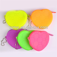 promotional customize silicone key coin pouch| bag