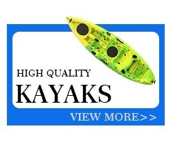 Professional Sit On Top Kayak plastic sunrise sunshine Fishing Boat