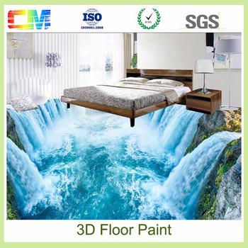 Best chemical wholesale 3d flooring epoxy paint prices non for Parterre 3d