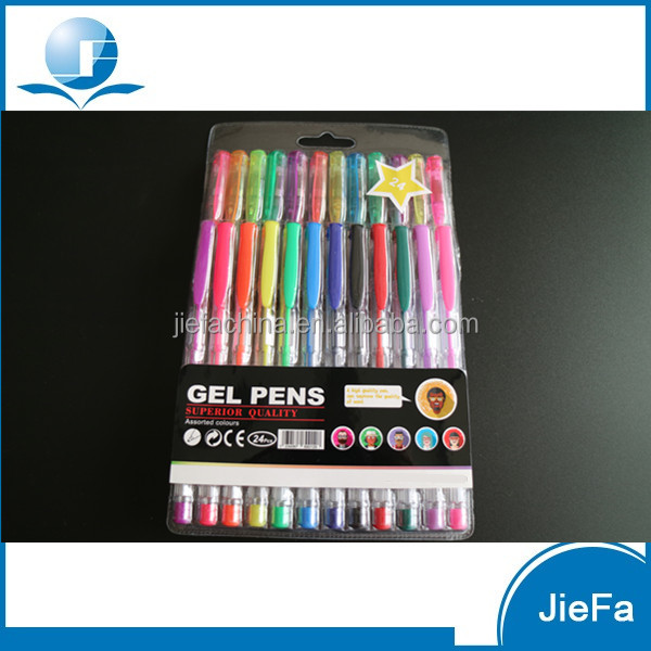 Glitter Gel Ink Pen 24piece
