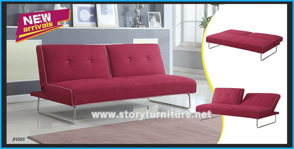 Modern Sofa Bed Sleeper Faux Leather Convertible Sofa Set Couch