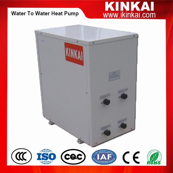 Water to water heat pump/Geothermal ground source heat pump system