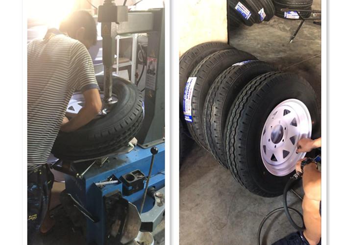 China Wholesale light truck tire 185R14C 8pr trailer tire and wheel