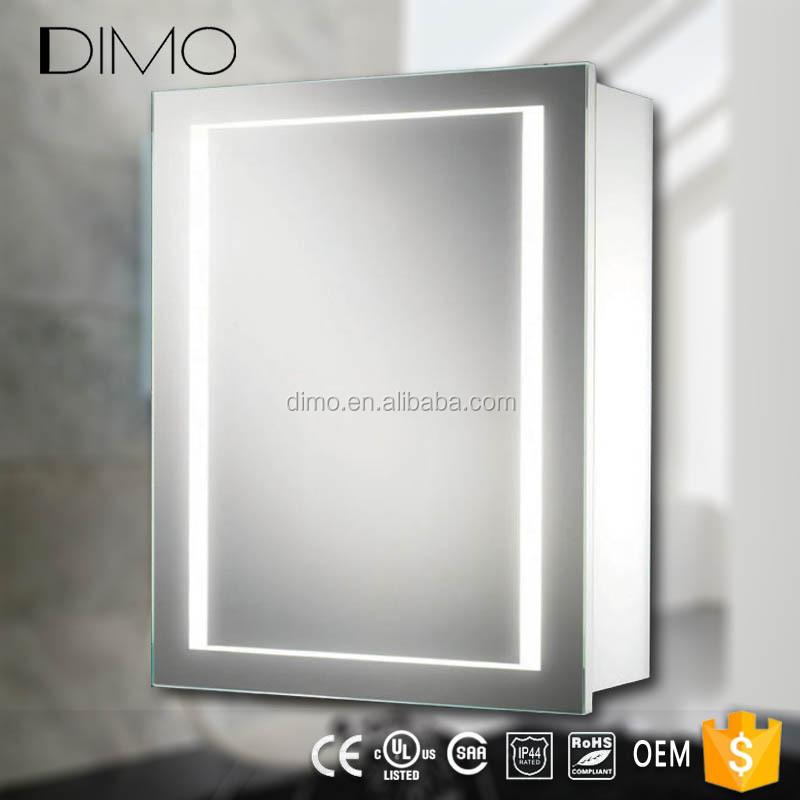 Mdf Pvc Plastic Bathroom Mirror Cabinet
