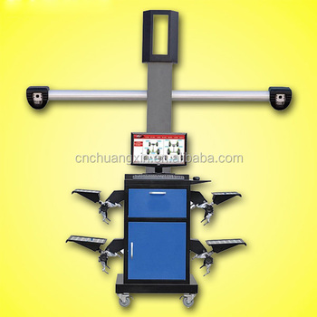 High effciency and portable 3d laser original autoboss wheel alignment