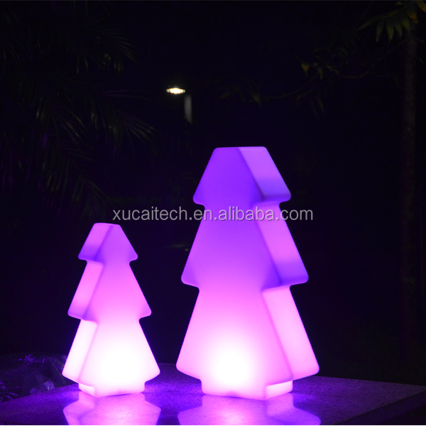 Color Changing Wireless Remote Control Outdoor Led Christmas Tree