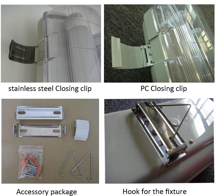 Outdoor Lighting Industrial Dust Proof Light Fixture Vapor
