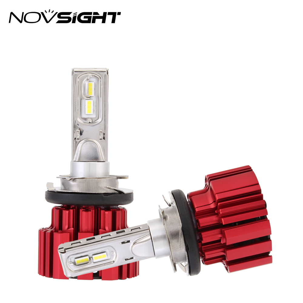 Novsight high power neue auto birne auto led h7 h4 scheinwerfer conversion kit p9 h15 9007 led scheinwerfer