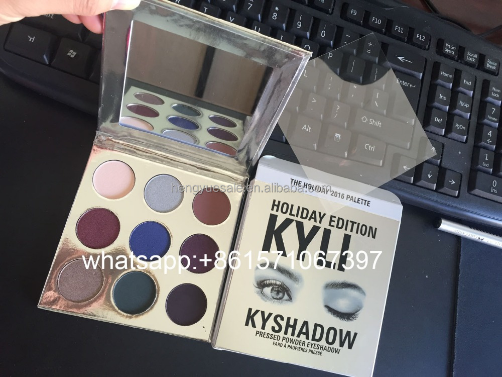 K&Y LIE Christmas Holiday Edition kyshadow eye shadow burgundy palette
