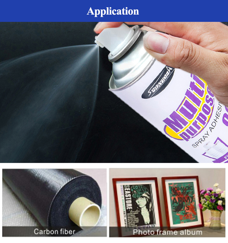 Sprayidea 92 non-toxic spray adhesive for lightweight materials and EPS foam