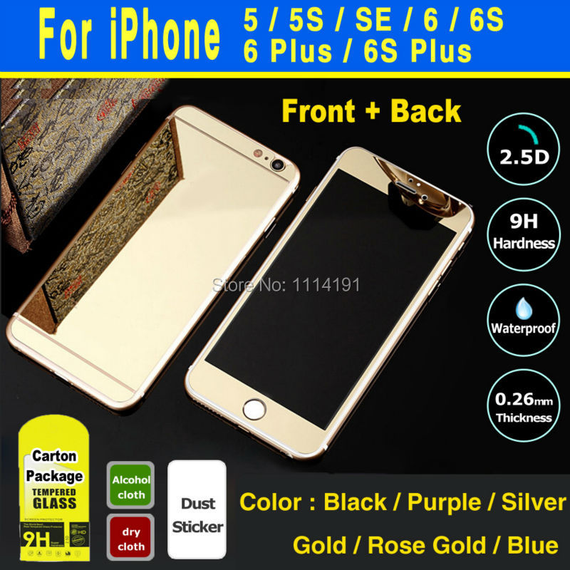 Colored Tempered Glab Iphone