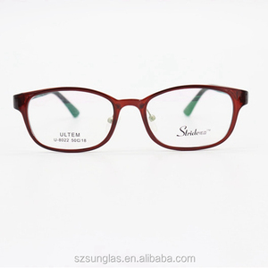 4b7a937910e1 Eyewear frame with your logo closeouts optical frames Red glasses