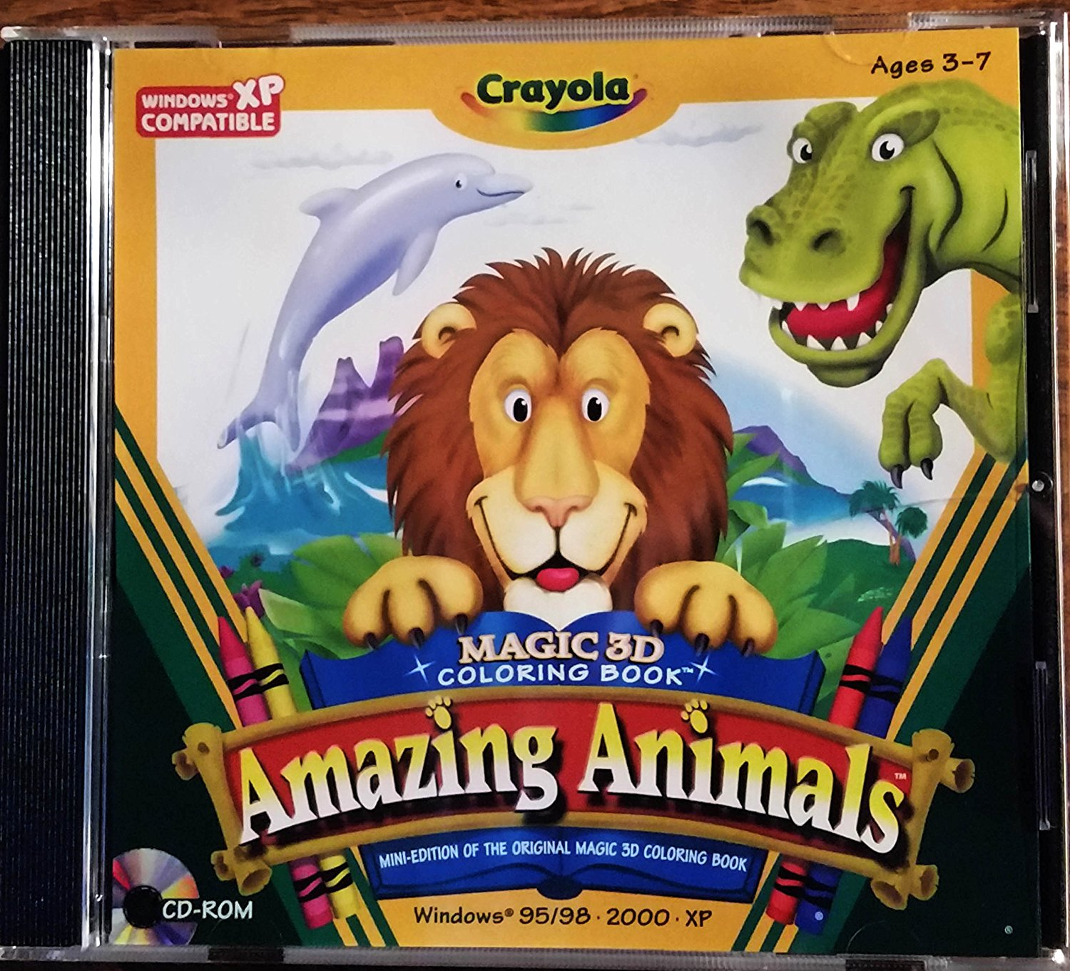 Buy Crayola Magic 3D Coloring Book - Amazing Animals in Cheap Price ...