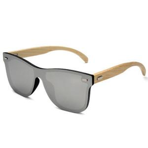8f5bac6e1b Fashion Wooden Sunglasses Men Bamboo Temple Sun Glasses Women Wood Glasses