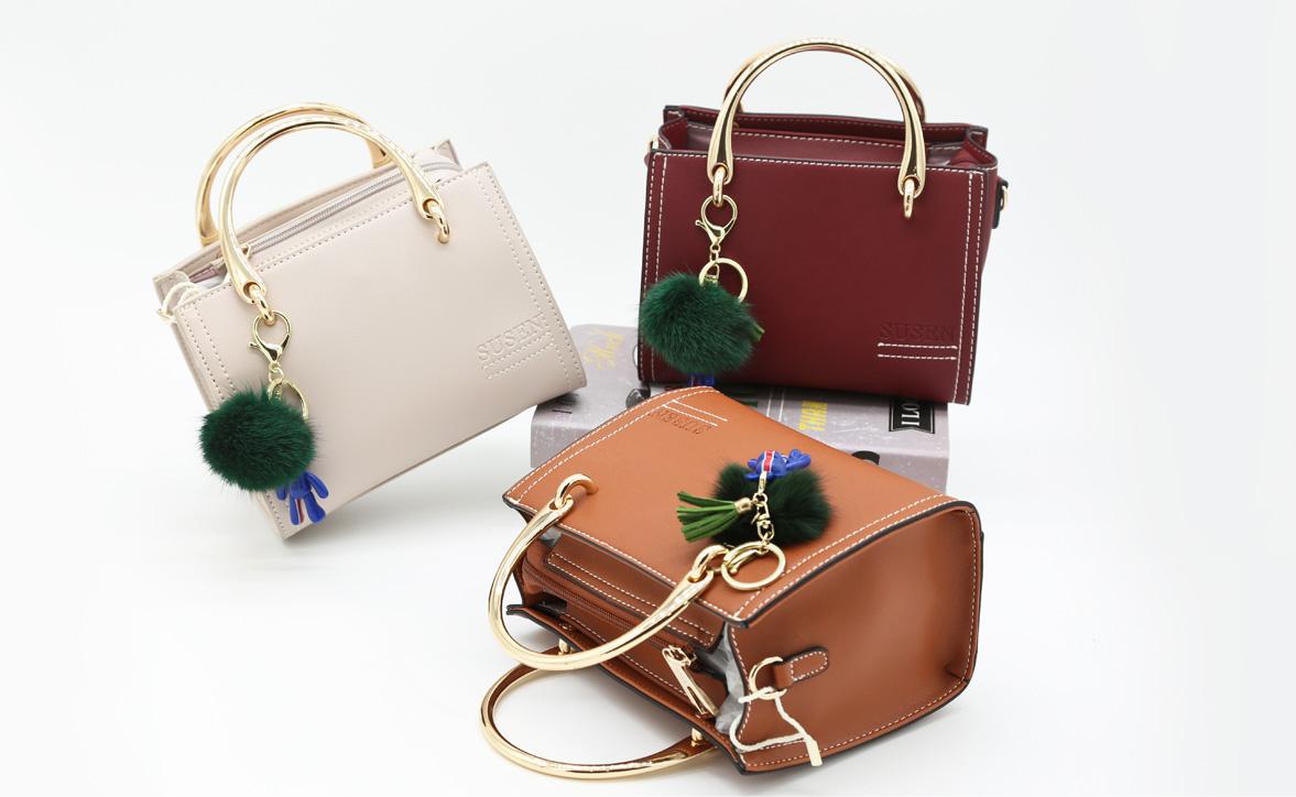 SUSEN handbags fashion Korean metal plush pendant designer brand ladies  handbags, View SUSEN handbags, SUSEN, Free to emboss your own logo Product
