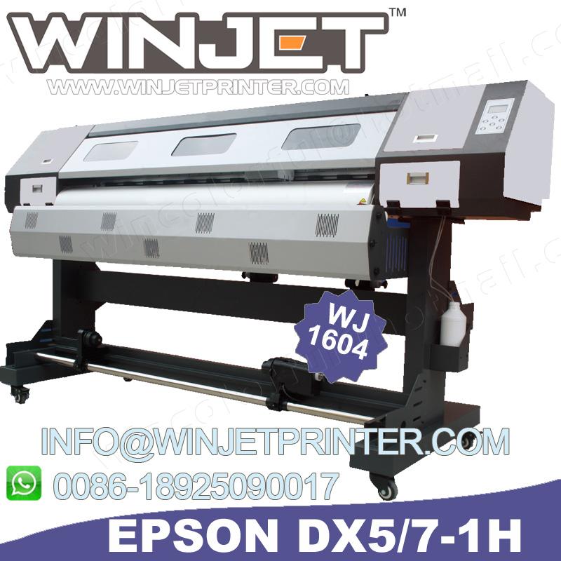 Vinyl banner t shirt printing machine WJ1604 with ep dx7 printhead 1604-F d96cfe1cf6f7