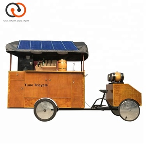 China Small Food Van 3 Wheel Fast food Electric coffee Tricycle for sale