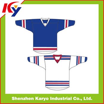 Dye Sublimation Slim Fit Colorful Toddler Blank Ice Hockey Jerseys ... 156d3b95481