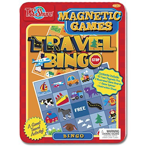 Travel Bingo Magnetic Game Tin by T.S. Shure