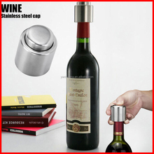 Smart Stainless Steel Vacuum Sealed Red Wine Storage Bottle Stopper Bottle Cap