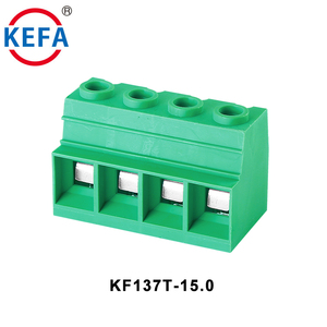 2-12P 35mm2 15mm Pitch High Current PCB Screw Terminal Block 600v 125A