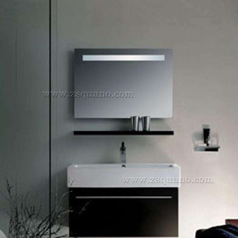 Frameless Bathroom Mirror With Led Light