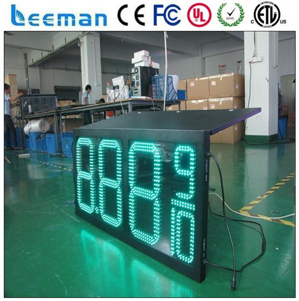 4 digits led digital fuel price signs for gas station bus station led sign board display
