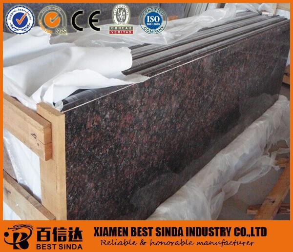 Baldosas de granito de tan brown granito de importaci n de for Baldosas de granito