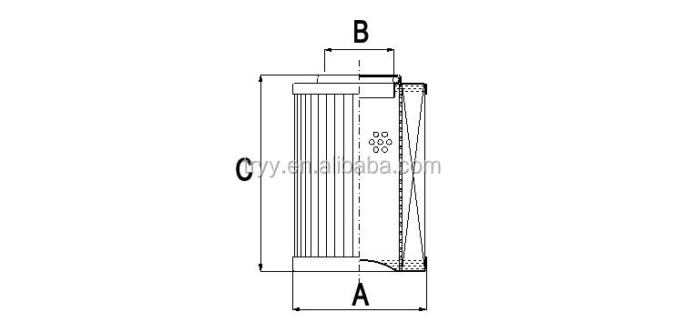 Replacement Rexroth Bosch Nutsche Transformer Filter