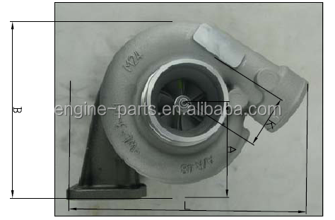 TB2518 466898-0006 Turbocharger for 4BD1T Engine