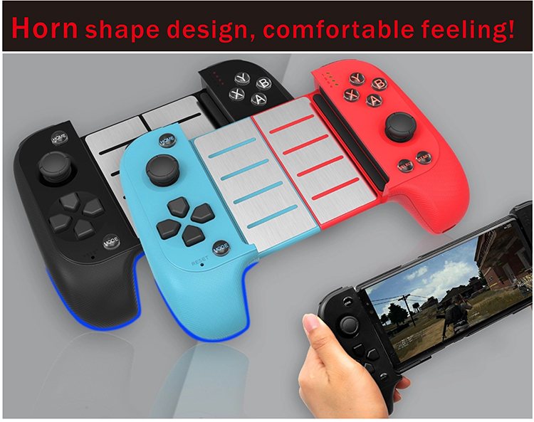 2019 New Arrival 7007F Wireless Gamepad BT Connection for Android  Smartphone/Tablet PC/TV Set/IOS system, View Wireless Gamepad, OEM/ODM  Product