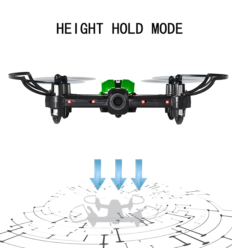 3. T18D_Green_Racing_Drone_with_Altitude_Hold_WIFI_FPV_RC_Drone