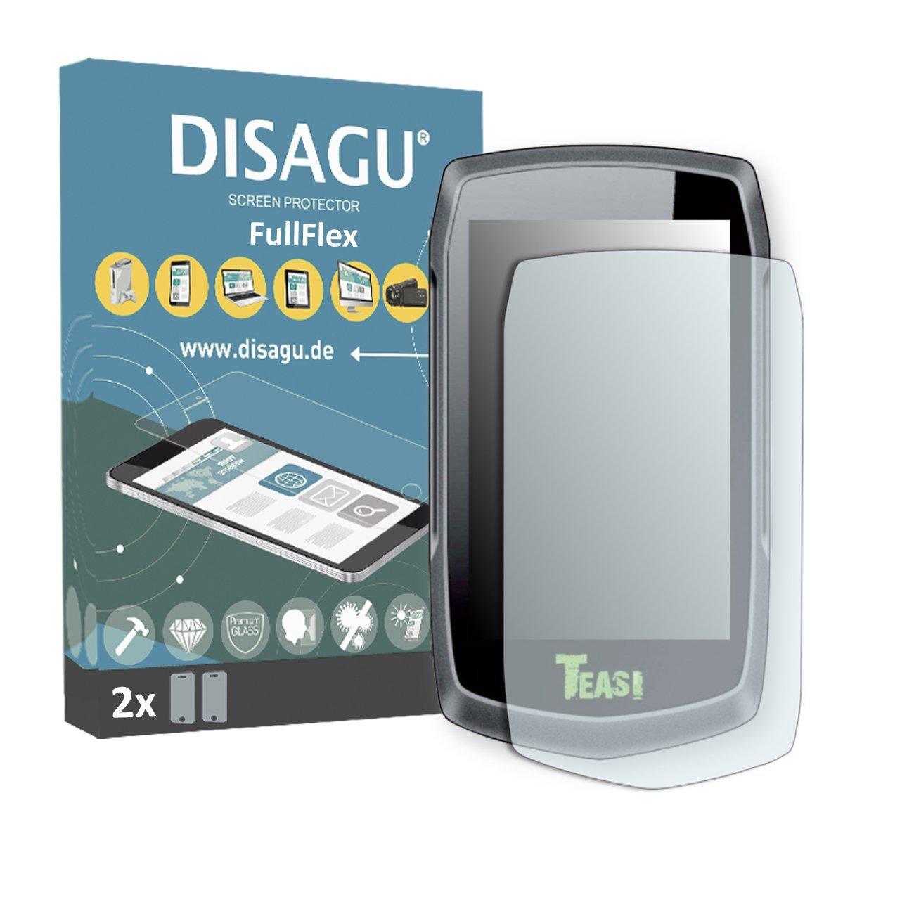 2 x Disagu FullFlex screen protector for Teasi One2 foil screen protector