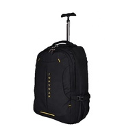 Large Capacity Rolling Backpack Wheeled Carry Trolley Luggage Laptop Backpack
