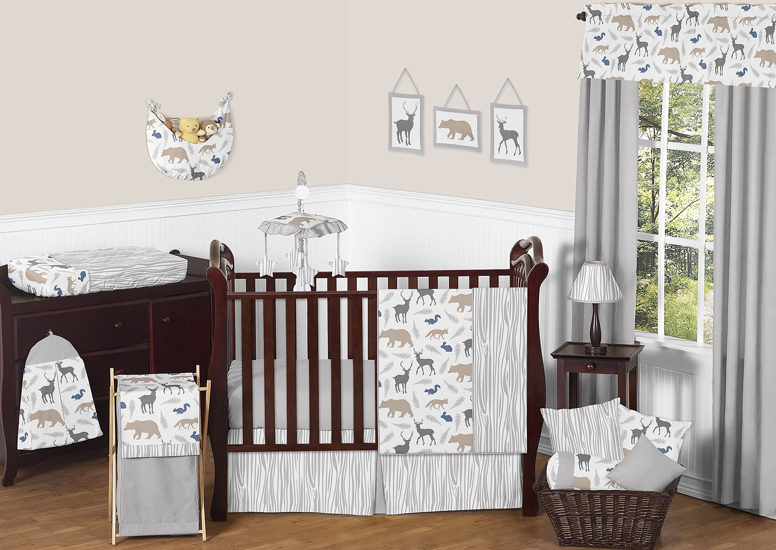 blanket pin boy inspired sets baby woodland bump babybumpbedding com bedding decor custom crib and bed