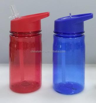 598973d3b0 Kids Drinking Straw Water Bottle 400ml Flip Straw - Buy Straw Bottle ...