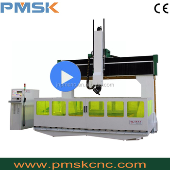 China professional engraving machinery cnc router 5 axis for mould