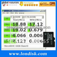 16GB micro sd for tablet pc memory card