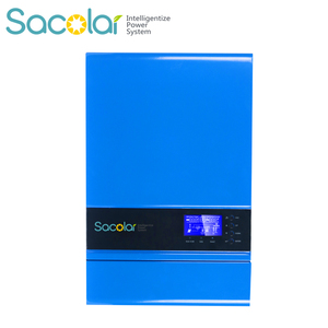 high frequency homemade 48 input voltage and dc ac type 5000w top 5 room inverter with mppt controller and battery